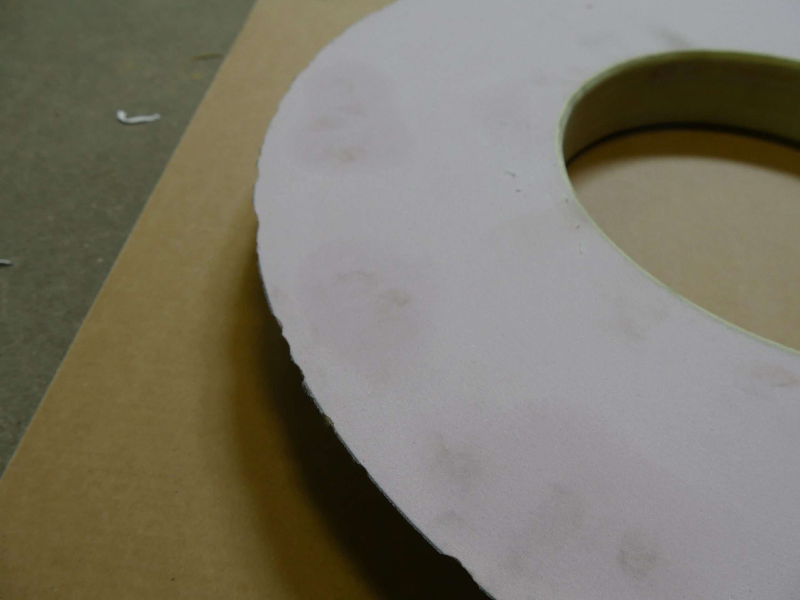 Grinding Wheel Edge Chips can be repaired by Mach-B